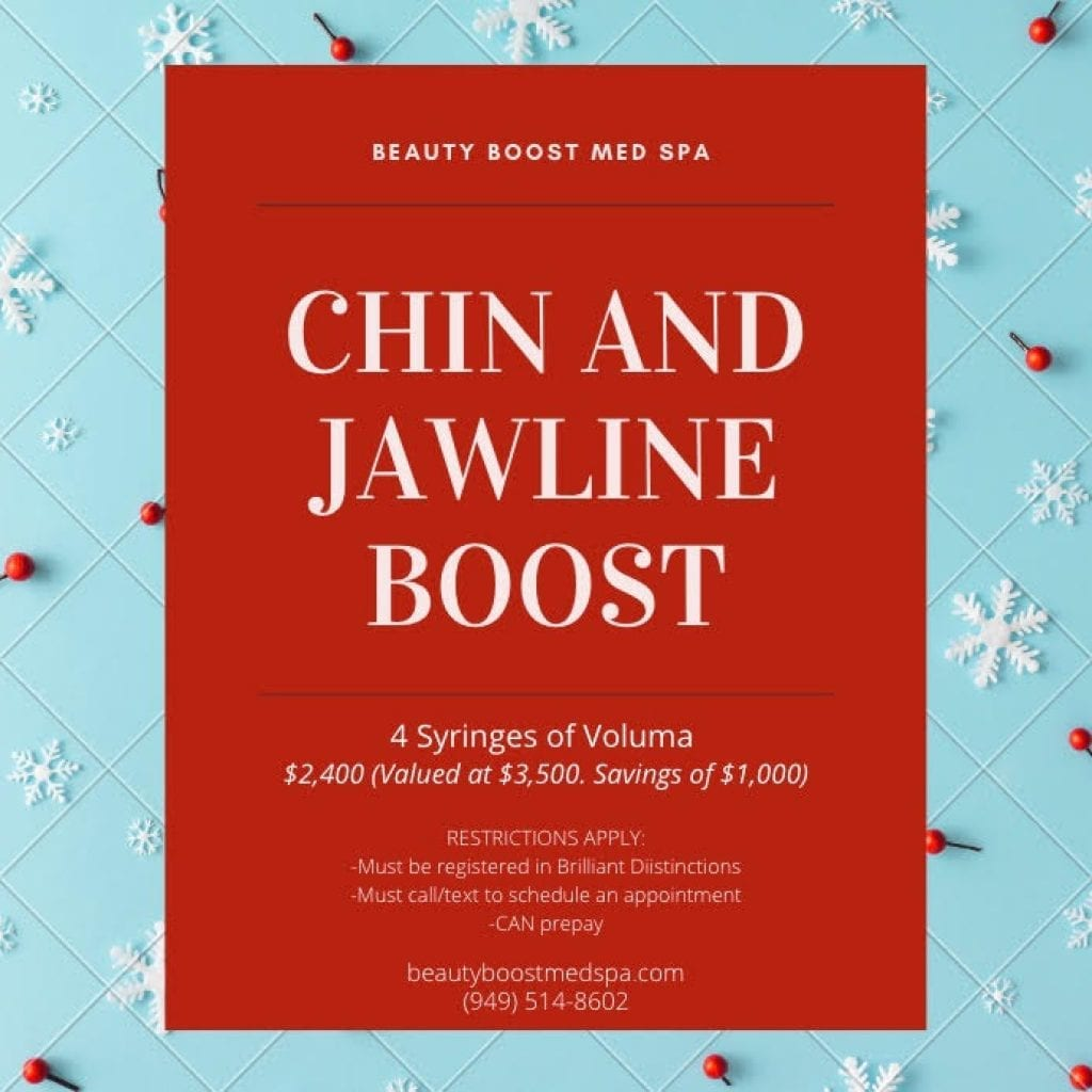 Beauty Boost Med Spa Chin and Jawline Boost Coupon $1000 Off - large