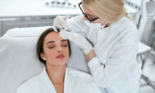 Beauty Boost Med Spa Temple Filler Facial Injection